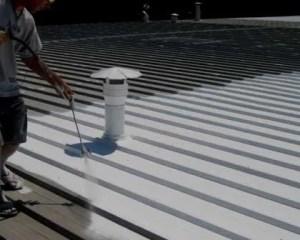 Filtraciones en tejados con soluciones líquidas