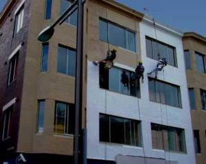 Pintar fachada de edificio
