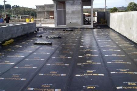Infiltrações em terraços – Tela asfáltica.