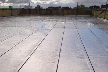 Infiltrações em terraços – Sistema de impermeabilização.