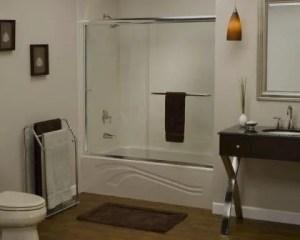 Decoração casa de banho com banheira