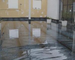 Impermeabilização de terraço com manta asfáltica