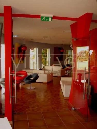 Remodelação de hotel: bar.