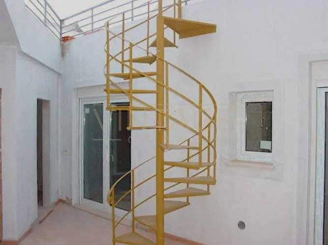 Remodelação de exterior: Escada caracol