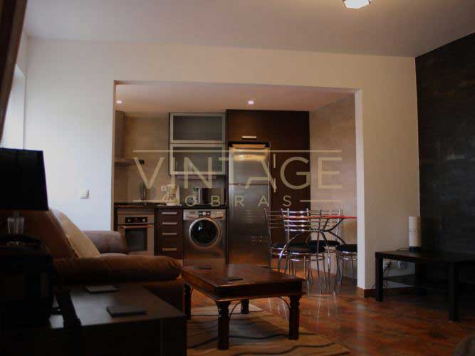 Remodelação geral de apartamento: moveis de cozinha