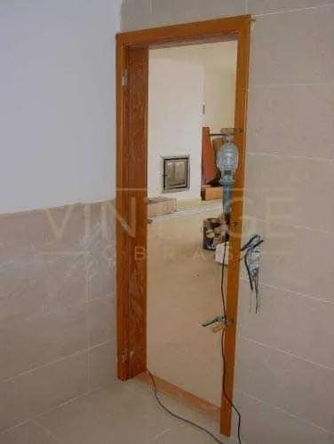 Remodelação geral: Porta interior