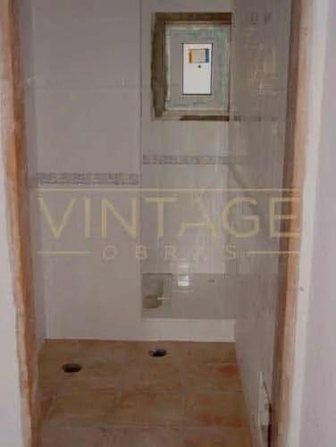 Trabalhos para remodelação de casa de banho
