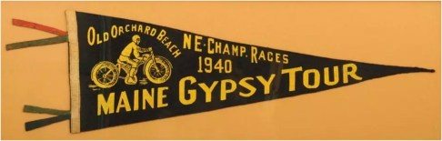 Maine Gypsy Tour 1940 Pennant 2