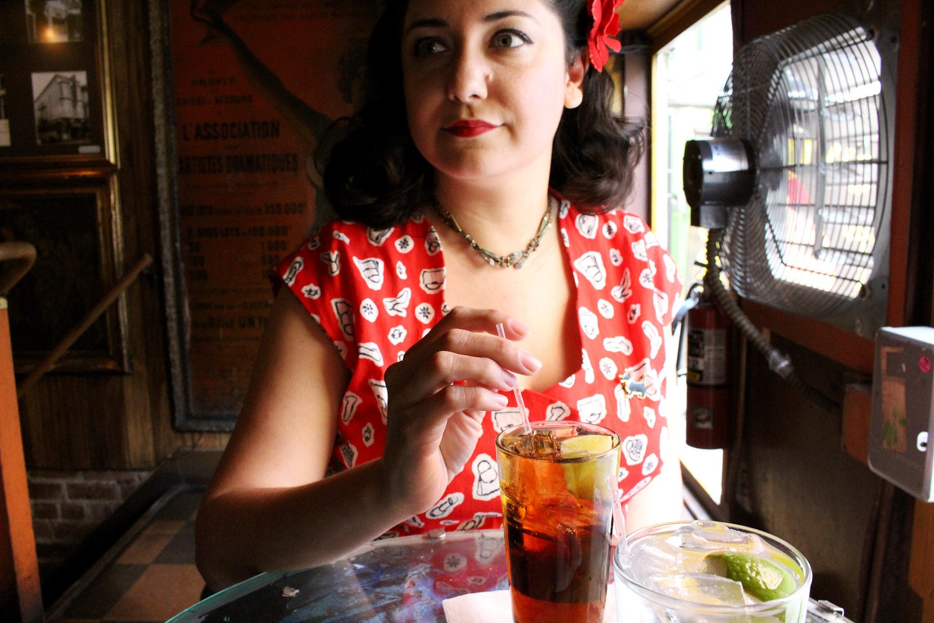 Vintage Simplicity 1460 peplum blouse | @vintageontap