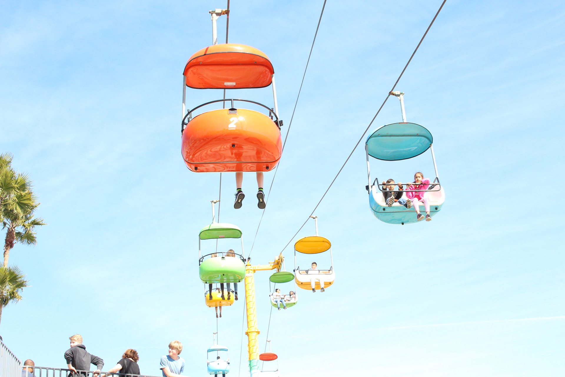 Santa Cruz Beach Boardwalk | @vintageontap