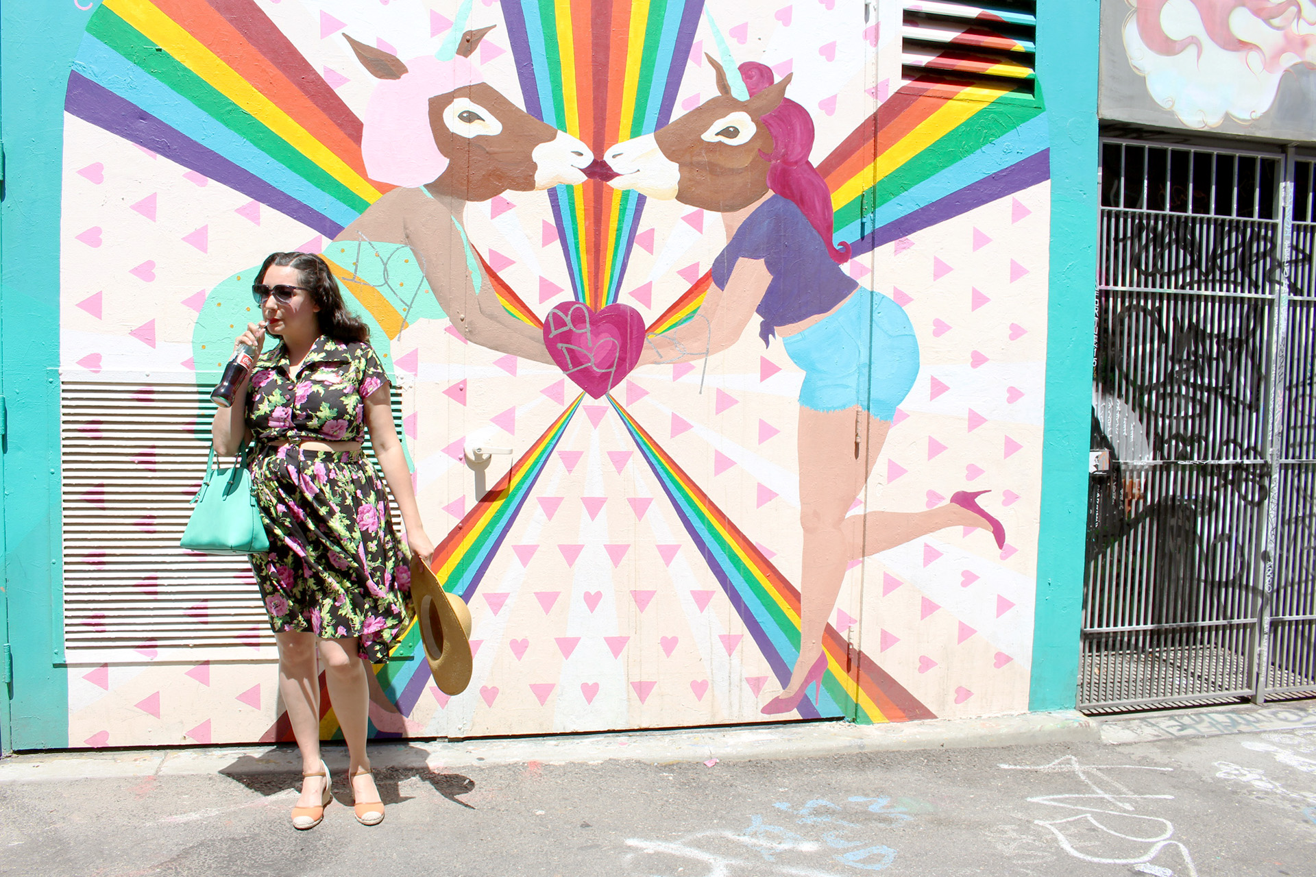 Butterick B5895 in the San Francisco Mission District | @vintageontap