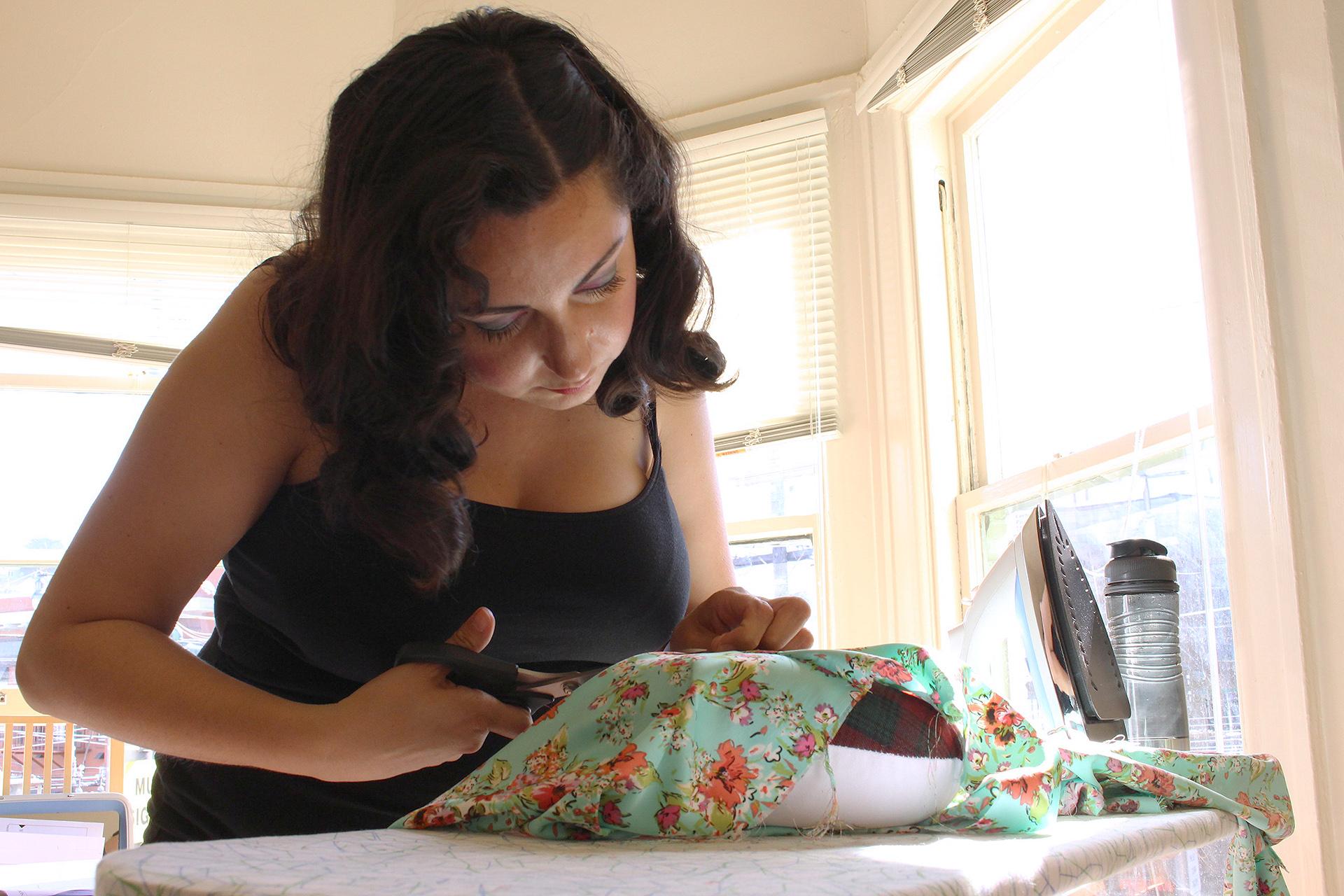 Sewing Spring Seamwork Alamada Robe | @vintageontap