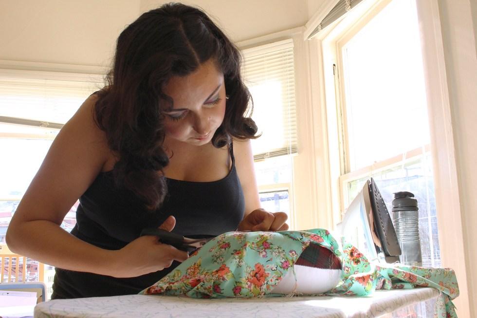 Sewing Spring Seamwork Alamada Robe   @vintageontap