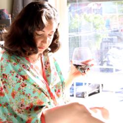 Spring Seamwork Alamada Robe | @vintageontap