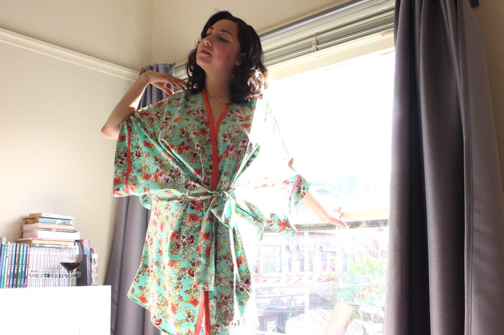 2017 Sewing Resolutions retrospective, Completed Seamwork Alamada Robe   @vintageontap