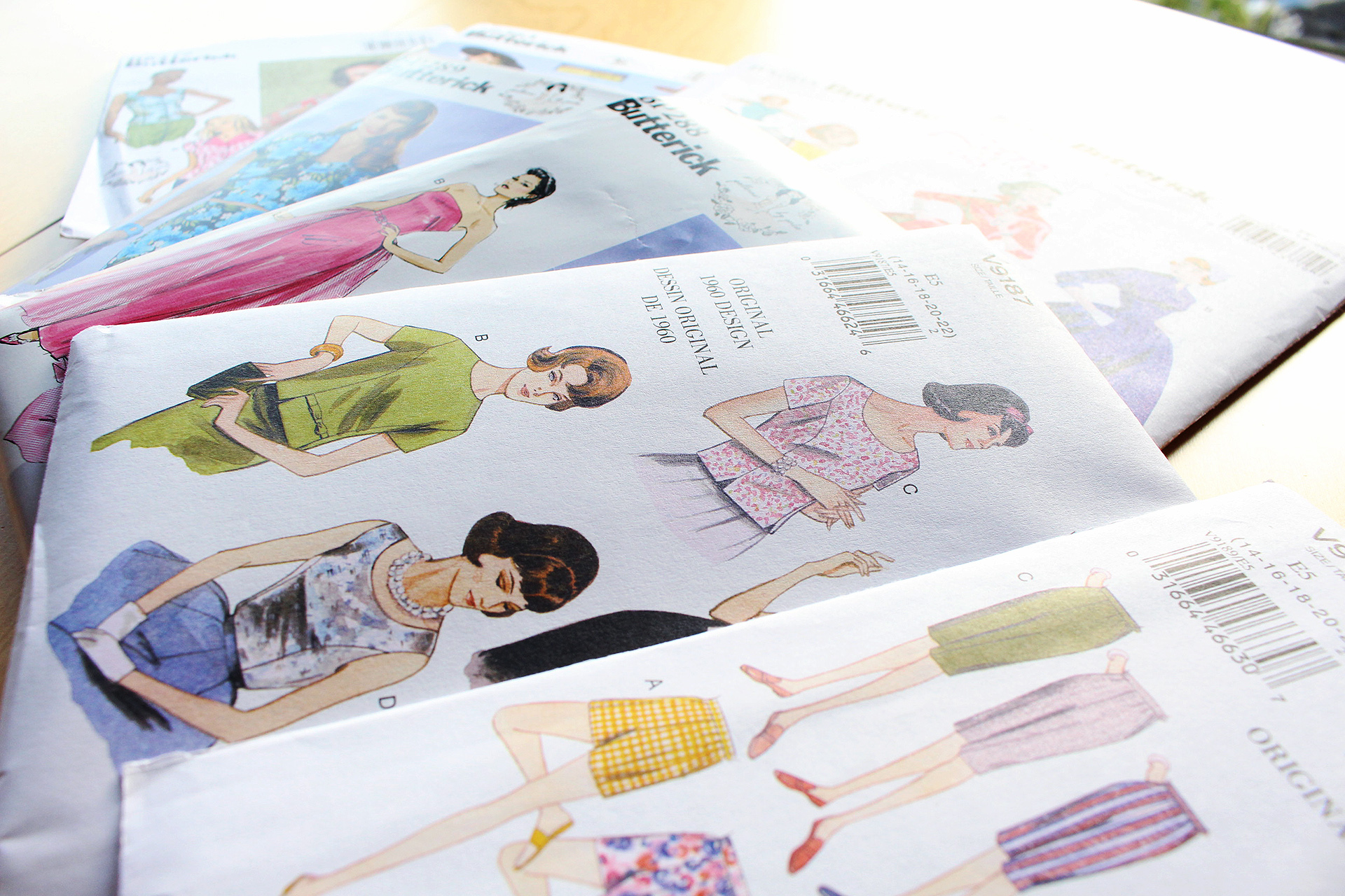 June 2016 Sewing Pinup Haul | @vintageontap