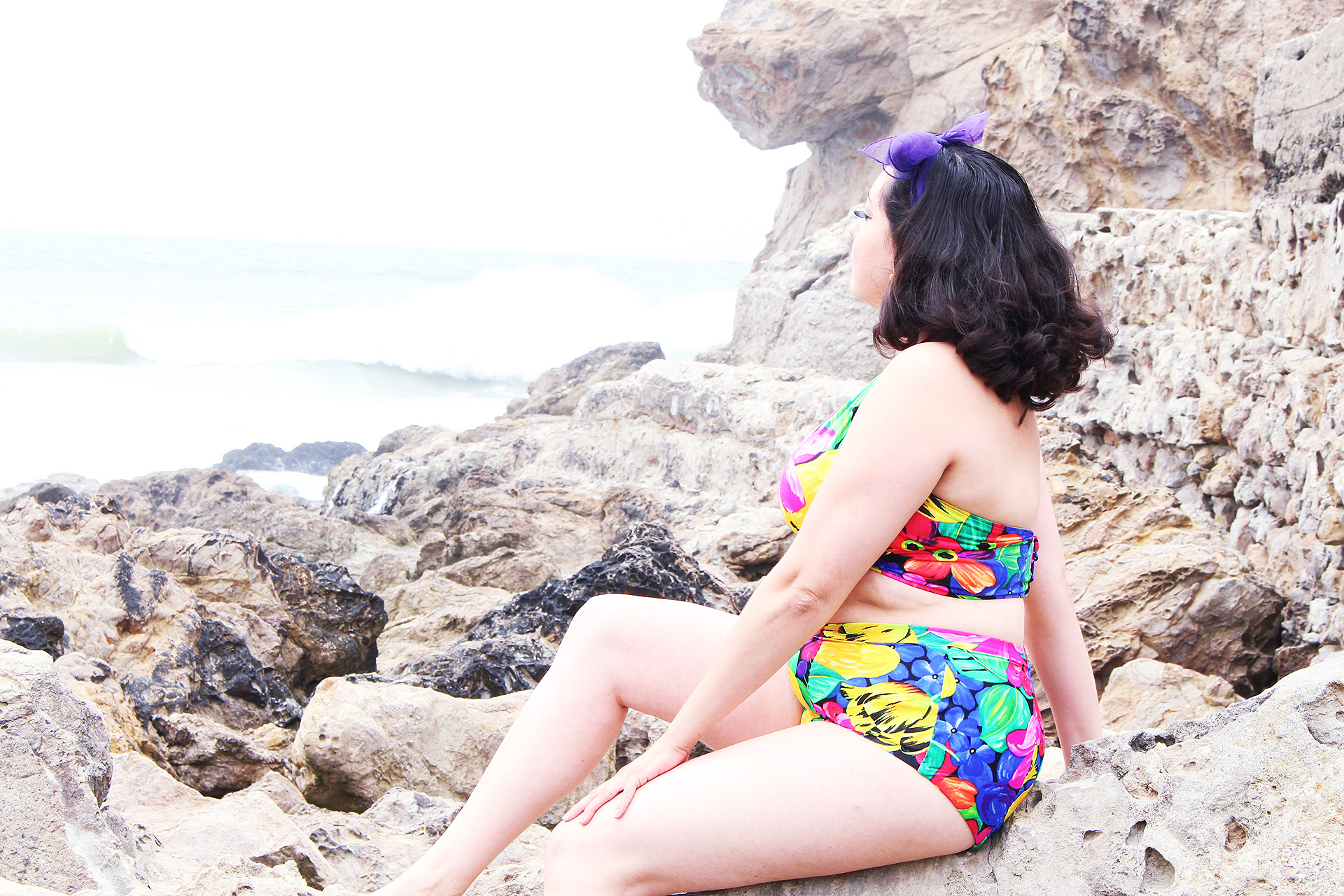 Sewing a Pinup Bathing Suit, McCalls 7168 | @vintageontap