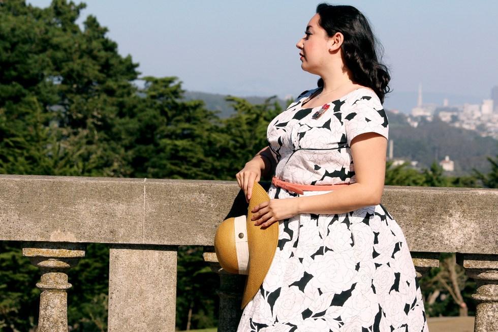 Wearing Colette Rue Dress | @vintageontap