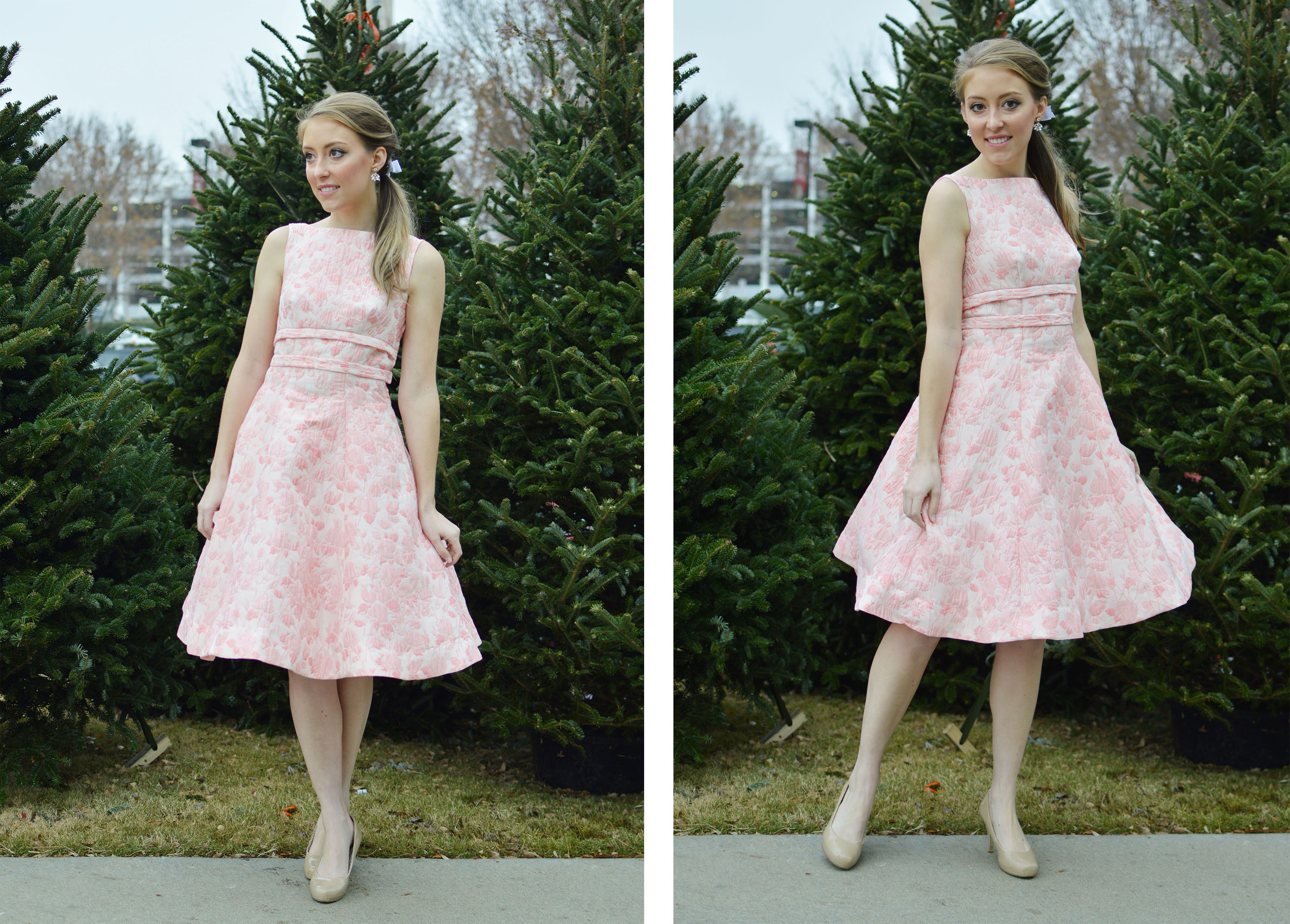 Butterick B5603 dress, made by Allie J | @VintageonTap