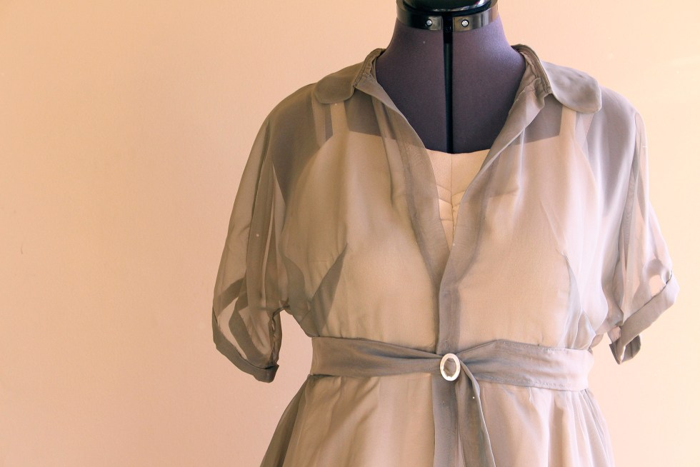 Simplicity 8252, completed vintage and pinup dress| @vintageontap