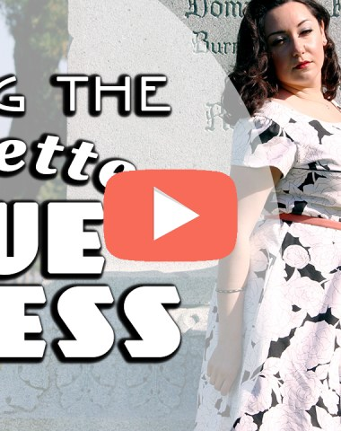 Sewing the Colette Rue   Vintage on Tap
