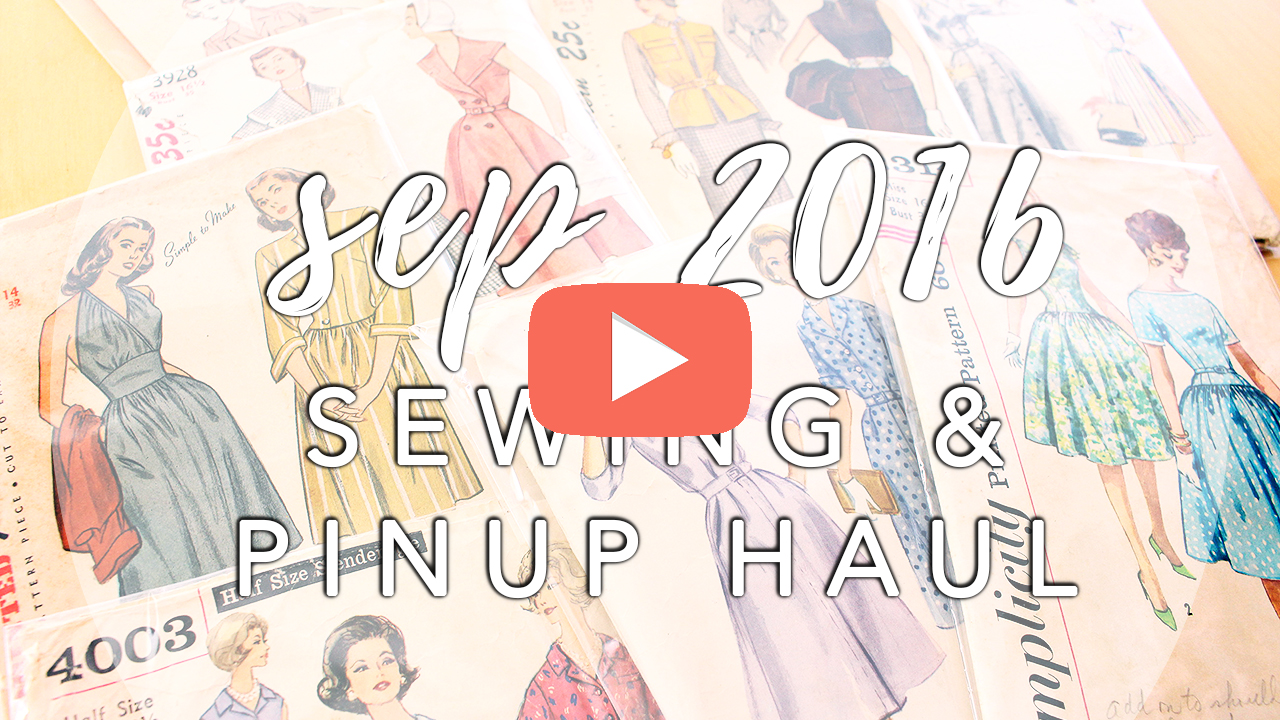 September Sewing Haul | Vintage on Tap