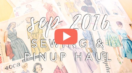 September Sewing Haul | Vintage on Tap