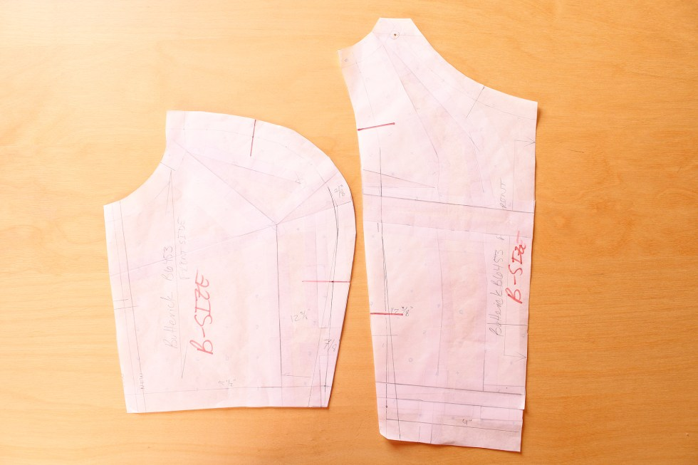Full Bust adjustment and Fitting, details, Gertie B6453 Sew Along | Vintage on Tap