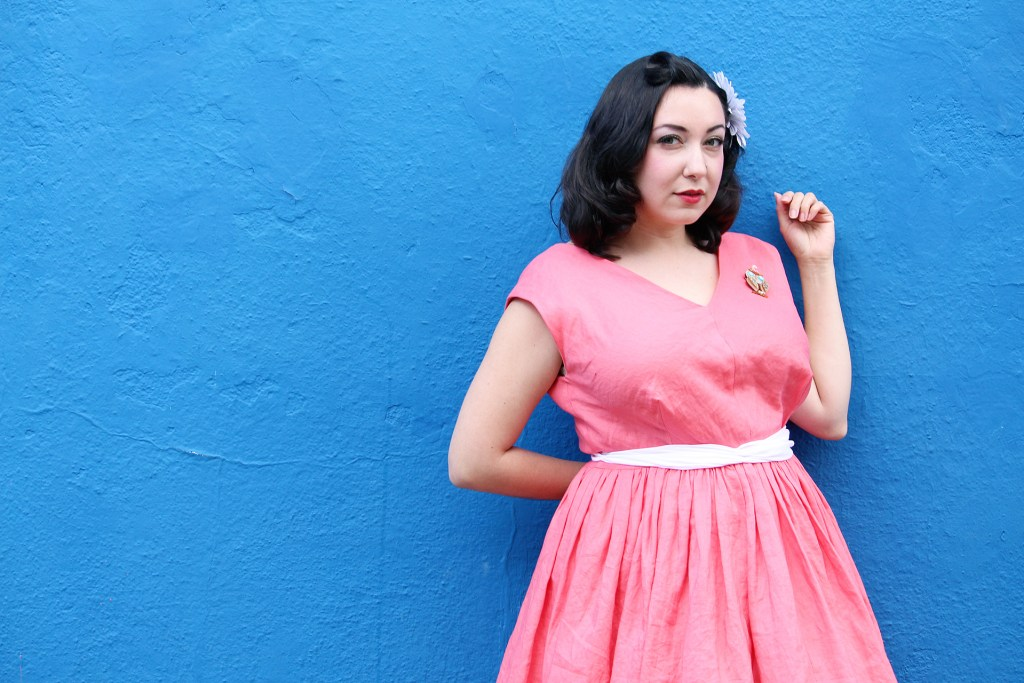 Bianca from Vintage on Tap, retro sewing | Vintage on Tap