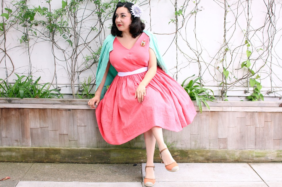 How to sew a vintage dress, Vogue 8789 | Vintage on Tap