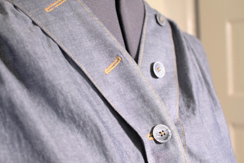Button detail, Britex Fabrics vintage buttons   Vintage on Tap