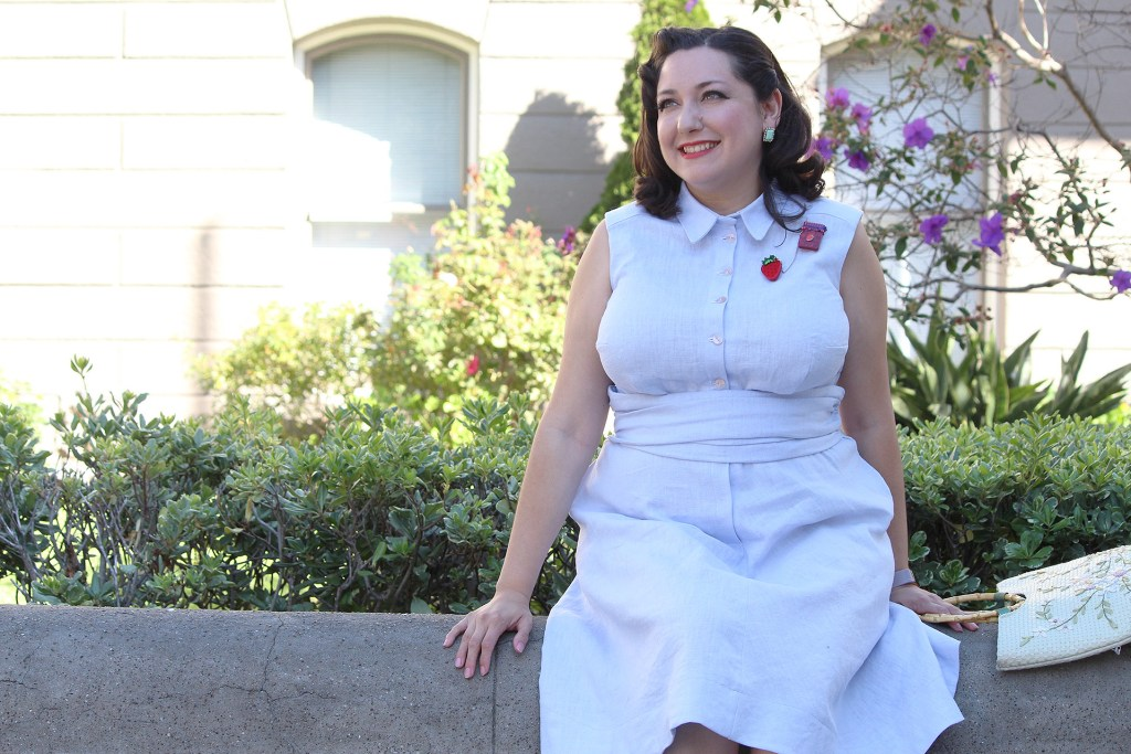 Video tutorial for retro sewing, the Colette Penny dress | Vintage on Tap