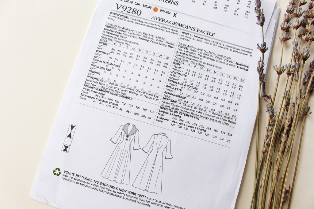 Vintage Vogue V9280 video series, breaking down the sewing and fitting process for easy sewing! | Vintage on Tap