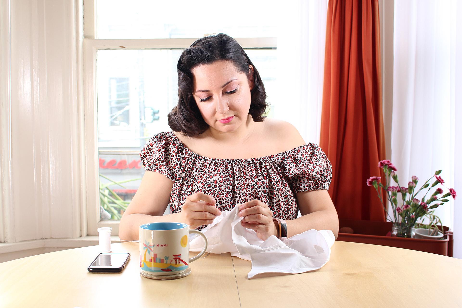 Sewing something yourself instills pride. | Vintage on Tap