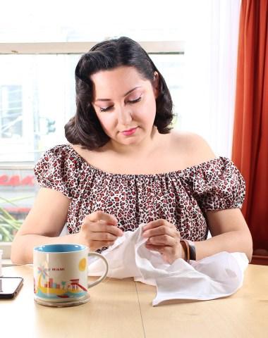Sewing something yourself instills pride.   Vintage on Tap
