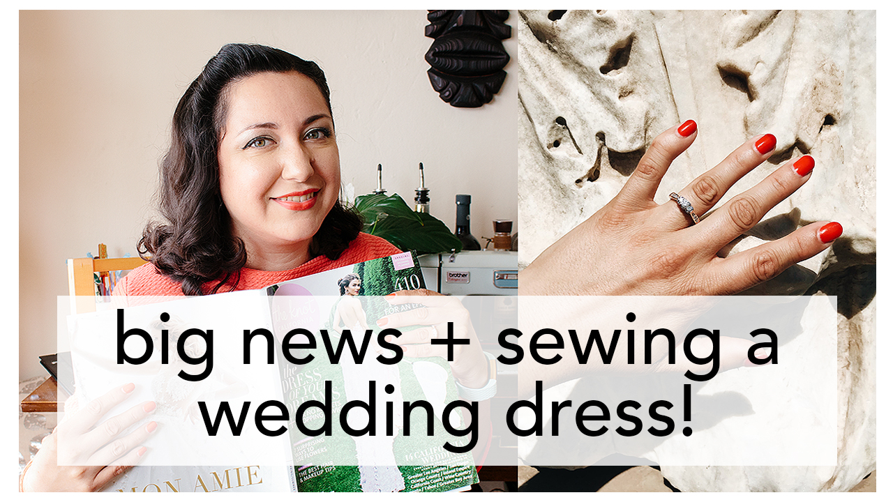 Vintage on Tap, Sewing a Wedding Dress! | Vintage on Tap