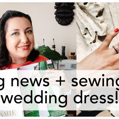 Vintage on Tap, Sewing a Wedding Dress! | Vintage on Tap
