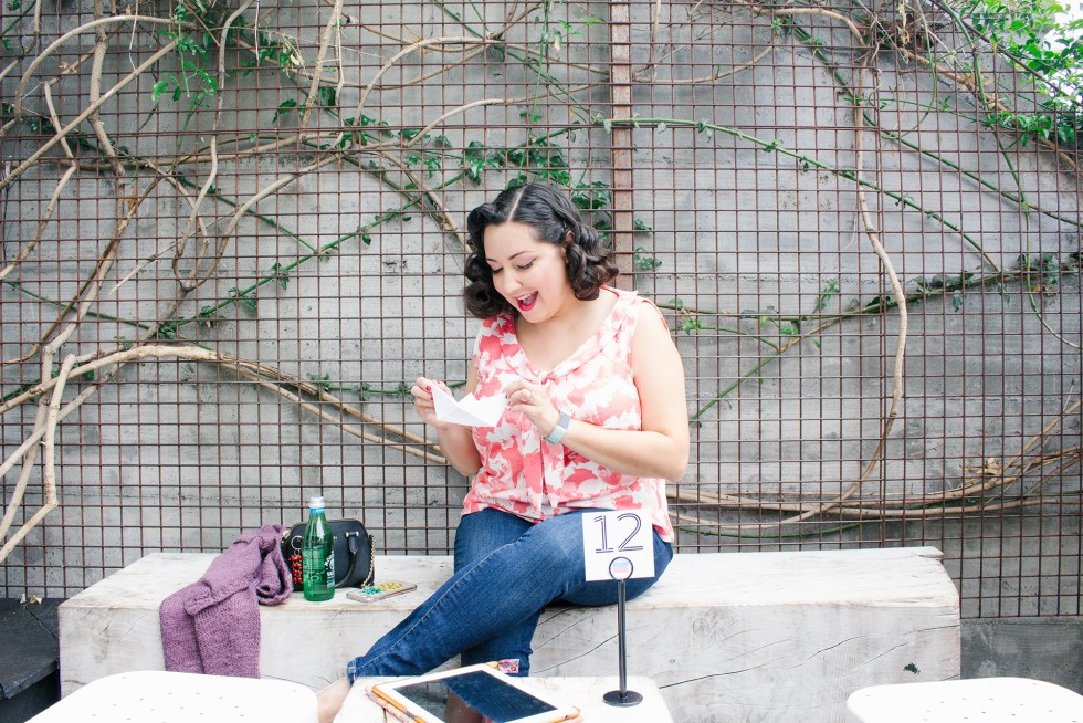 Bianca Santori from the pinup and retro sewing blog, Vintage on Tap