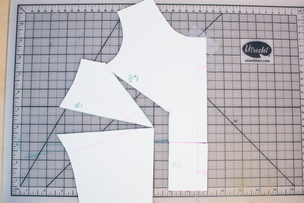 How does a full bust adjustment work? This video tutorial will walk you through how the adjustment works | Vintage on Tap Pinup Sewing Blog