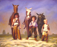 """Three for the Road (10"""" x 12.5"""") http://goo.gl/vpumQ9 All canvas prints are in limited editions and are signed by me. Copyright (C) reserved."""