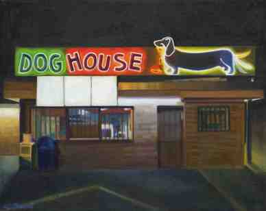 "Dog House (10"" x 12.5"") http://goo.gl/O2J1I2 All canvas prints are in limited editions and are signed by me. Copyright (C) reserved."