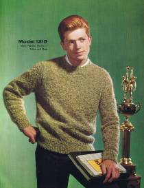 boys knitting patterns vintage pullover