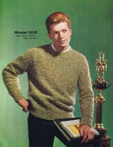 boys knitting patterns vintage pullover