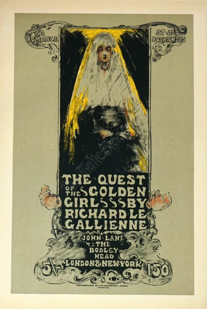 the quest of the golden girls maitre de l affiche plate 128 vintage posters by la belle epoque vintage posters in nyc