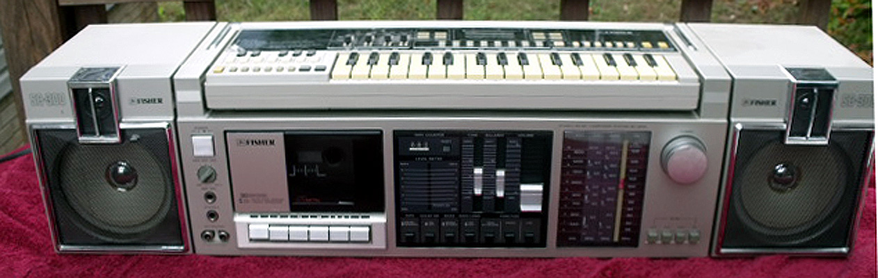 Fisher Stereo System Vintage