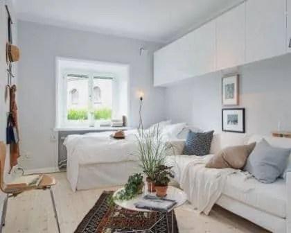 Remodelações de quartos em apartamentos.