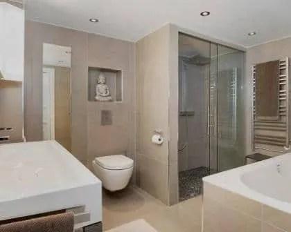 Remodelações de casas de banho moderna.