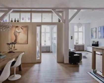 Remodelações de interiores de apartamentos.