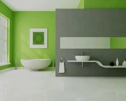 Pintura de interiores de casas de banho