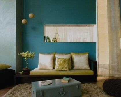 Pintura de interiores de sala